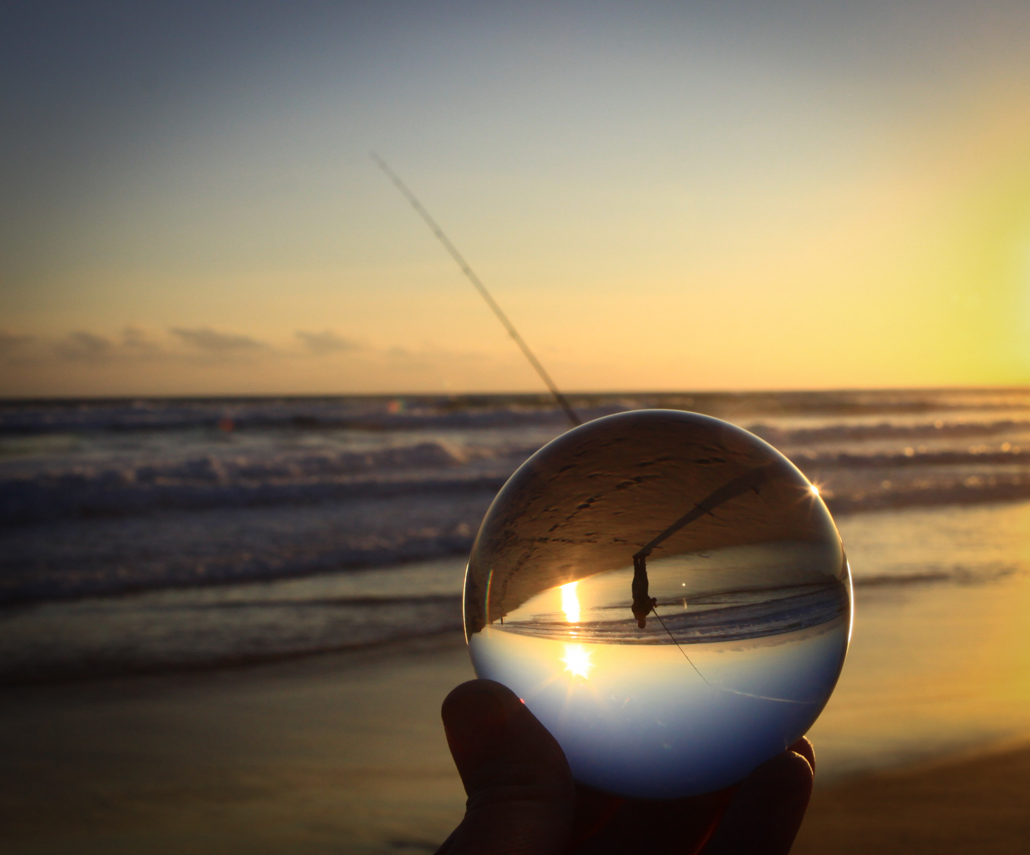 Fisherman Reflection. Open. Sharon Weymouth