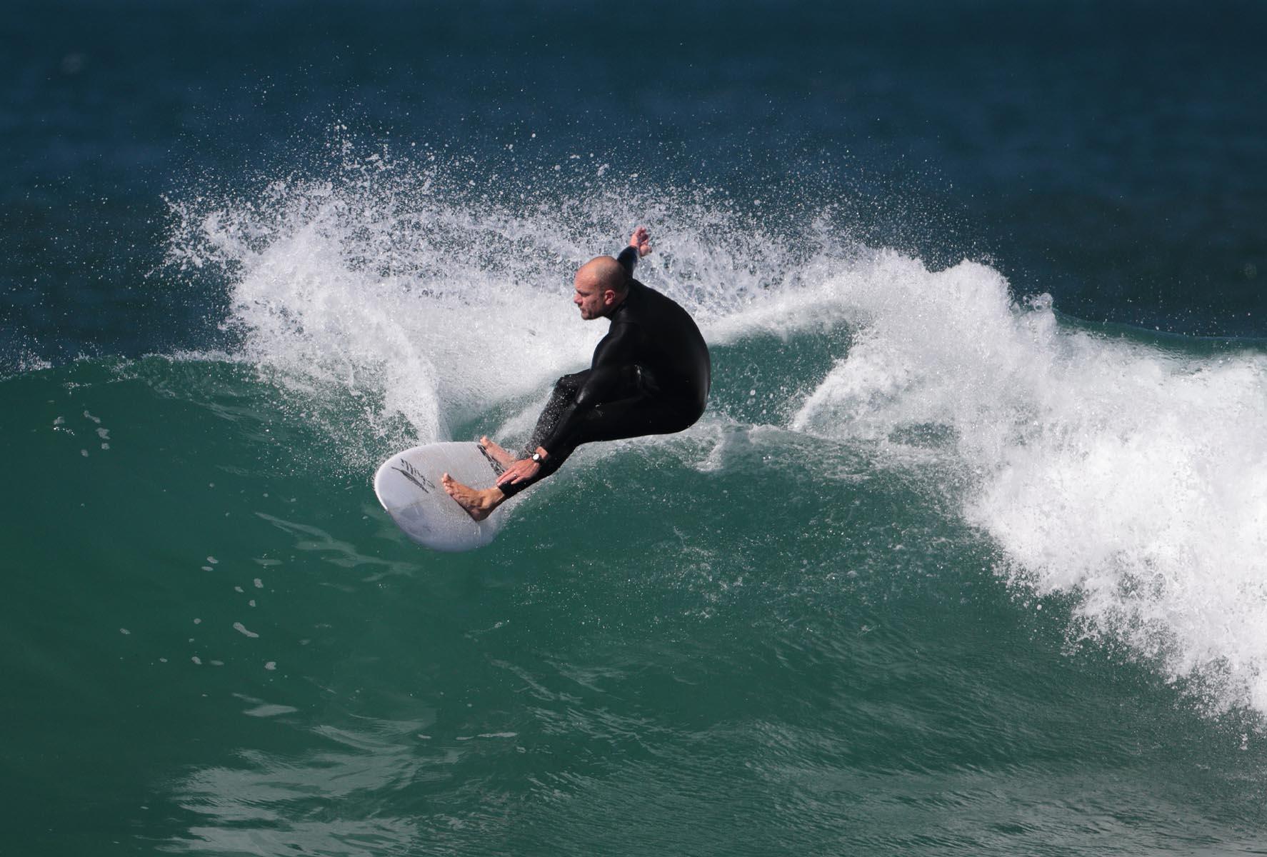 Bells Beach Surfer. Open. Li Ting Jiang