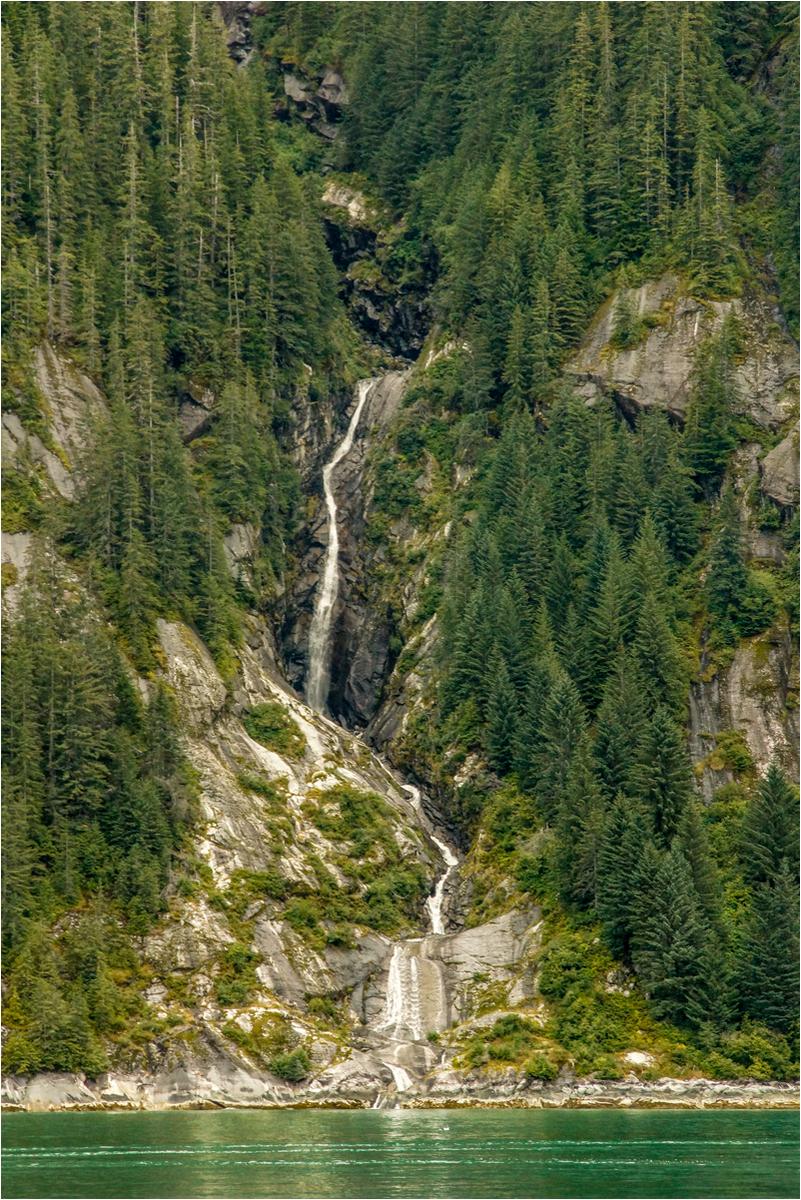 Alaska Waterfall. Open