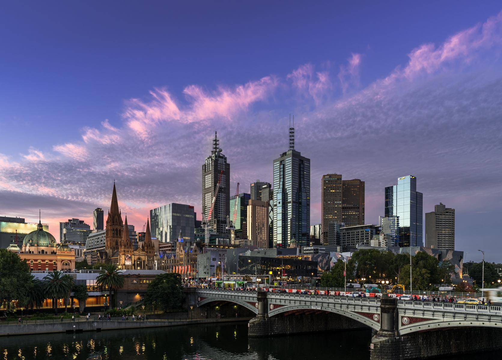 Melbourne, Landscape EDPI