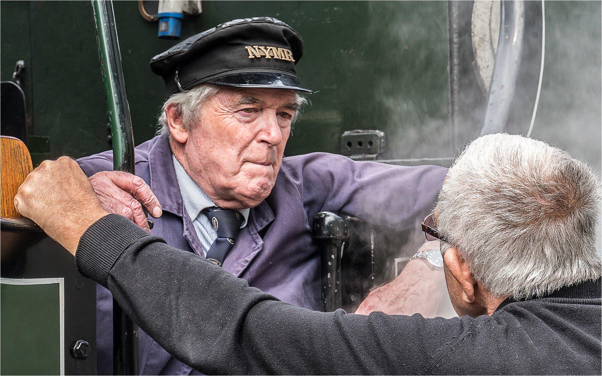 Intense Discussion Pickering Railway UK.jpg