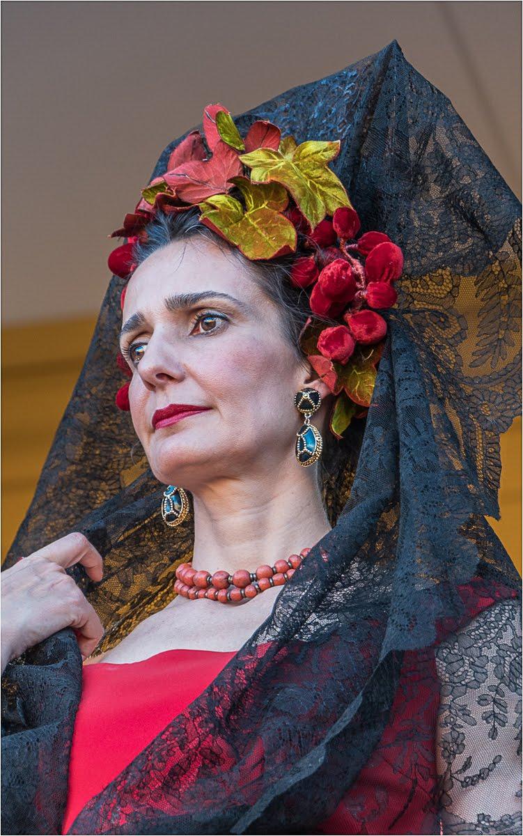 Lady at the Bull Fight Seville.jpg