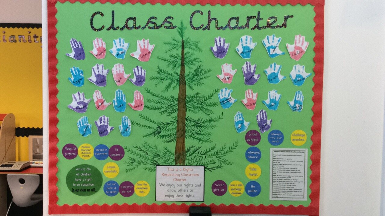 Our class charter!