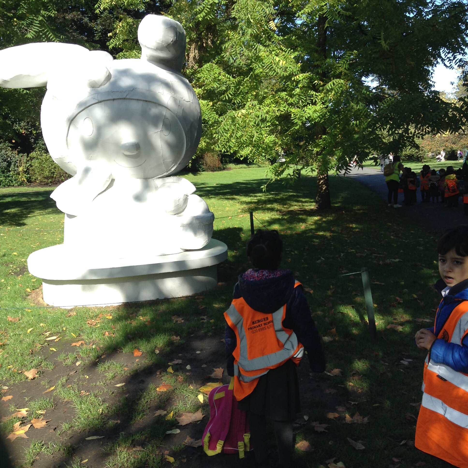 Frieze Sculpture Exhibition Regent S Park Berger Primary School
