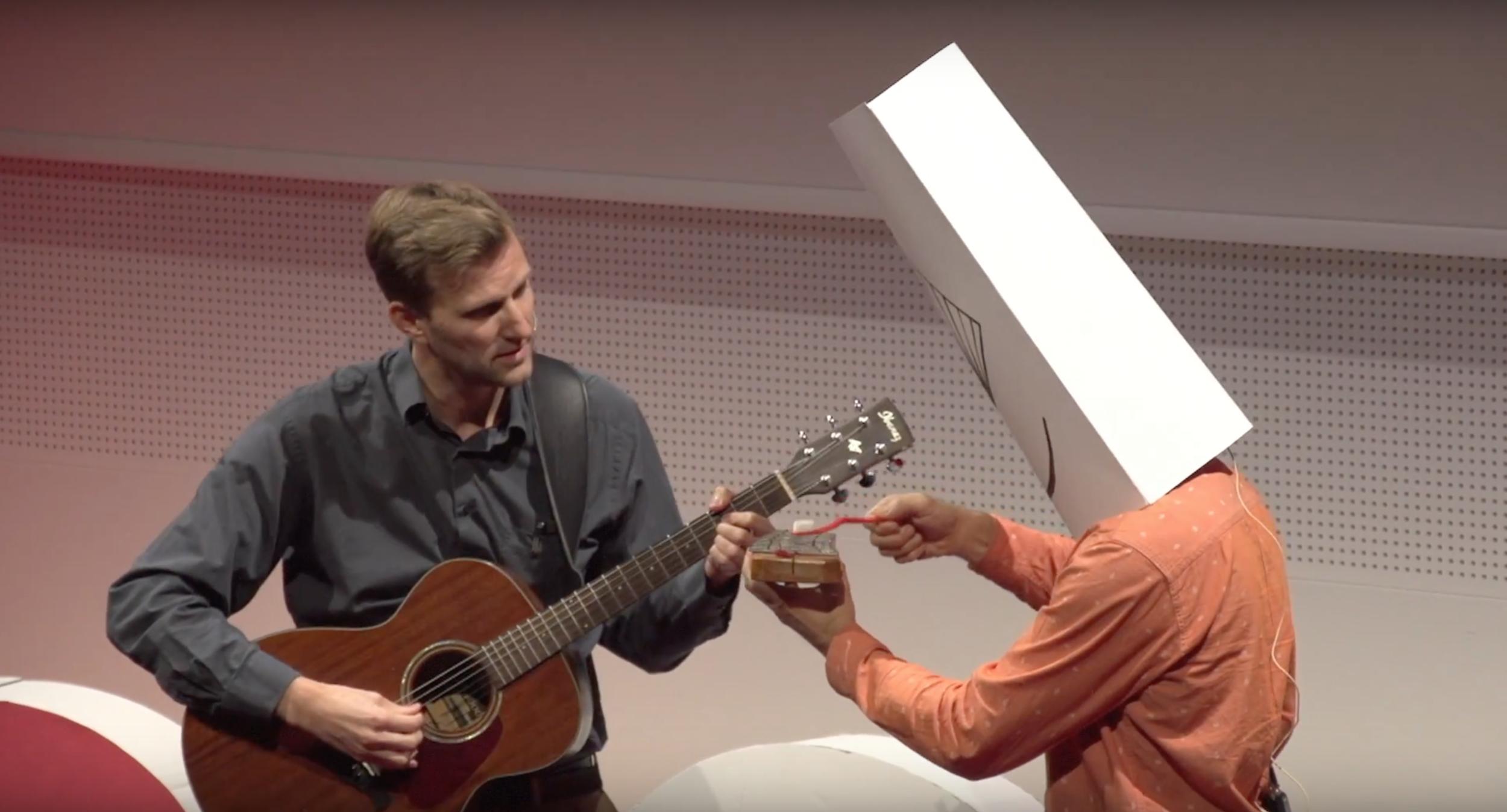 TedX 2018  - Geneva - Imaginez le futur  avec vos sentiments