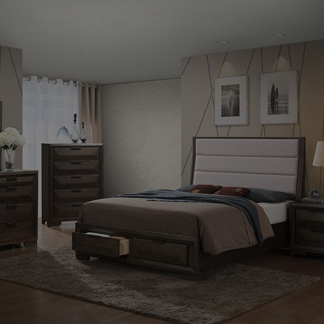 BEDROOM - View Our Luxury Beds, Nightstands, Chest Drawers & More.