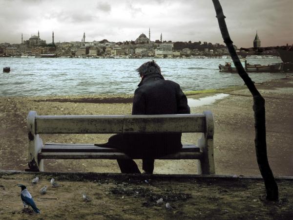 Nuri Bilge Ceylan'ın Uzak filminden.