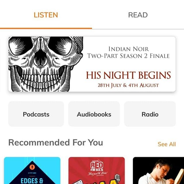 All major pod apps promoting #indianoir's finale weekends 🙏🏾🙏🏾🙏🏾🎉 #podcasting #podcasts #indianpodcasts #indianpodcaster #indianpodcasting #desipodcast #horrorpodcast #crimepodcast #truecrimepodcast #audiofiction #audiodrama #voiceactor #voiceacting #audiodramasunday #audiofictionsunday #poetry #poetsofinstagram #igpoetry #spokenpoetry #poetryreading