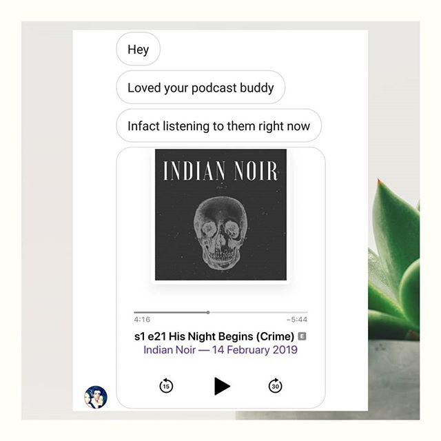 Always good to hear from you constant listener 🙏🏾🙏🏾🙏🏾 #podcasting #podcasts #indianpodcasts #indianpodcaster #indianpodcasting #desipodcast #horrorpodcast #crimepodcast #truecrimepodcast #audiofiction #audiodrama #voiceactor #voiceacting #audiodramasunday #audiofictionsunday #poetry #poetsofinstagram #igpoetry #spokenpoetry #poetryreading