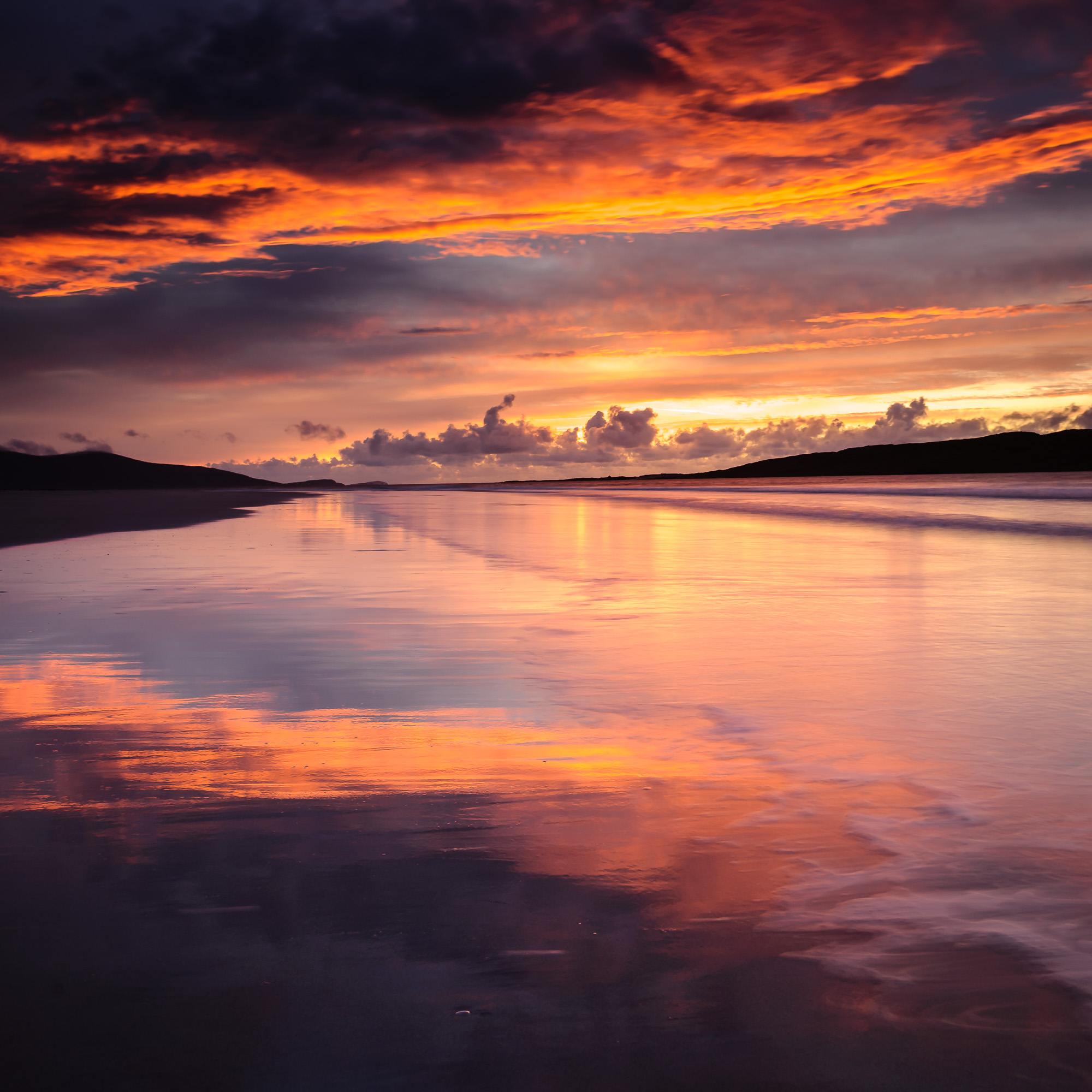 Luskentyre Sunset, Isle for Harris