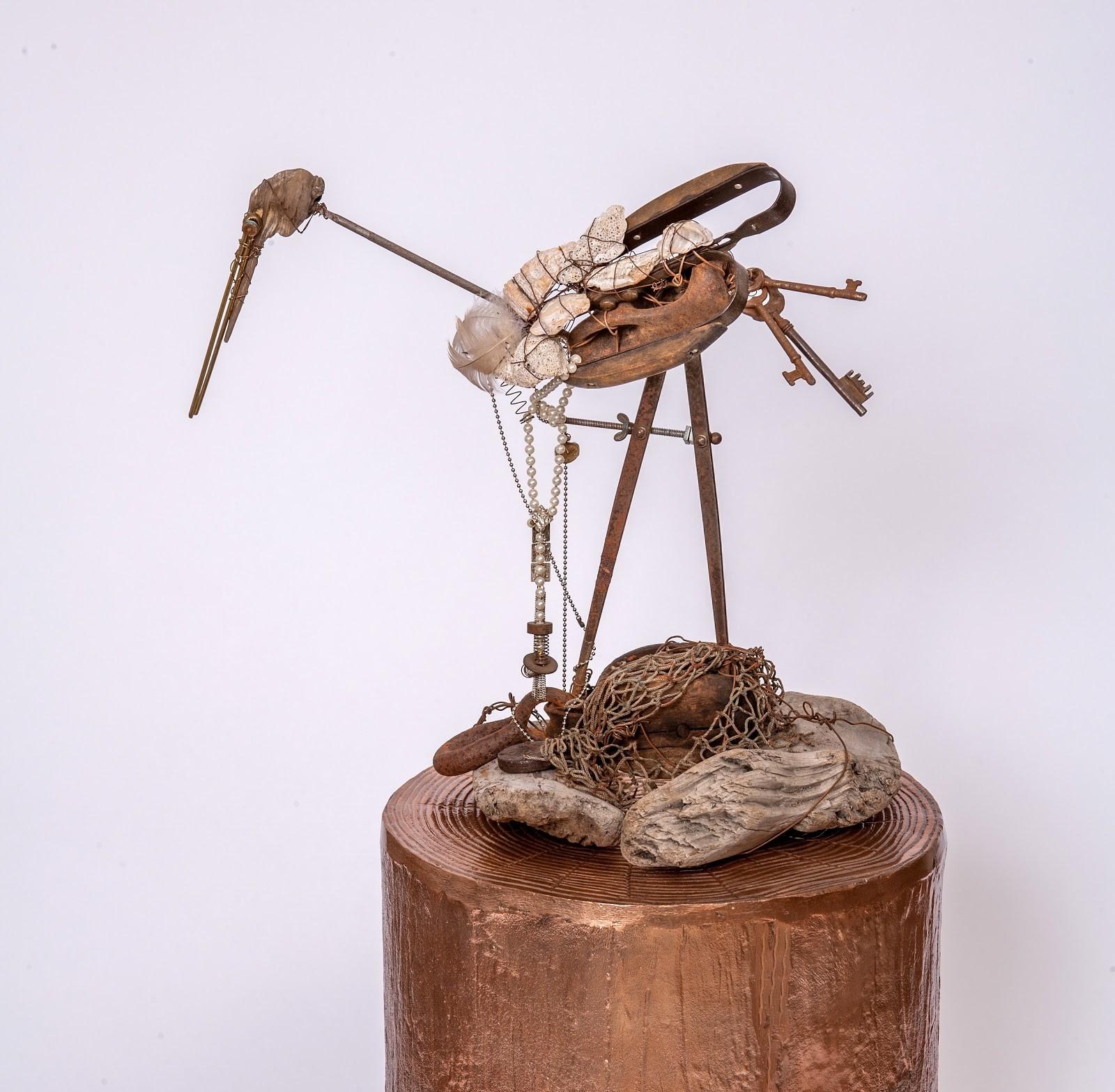 Constrained Crane   © Suzanne Eller