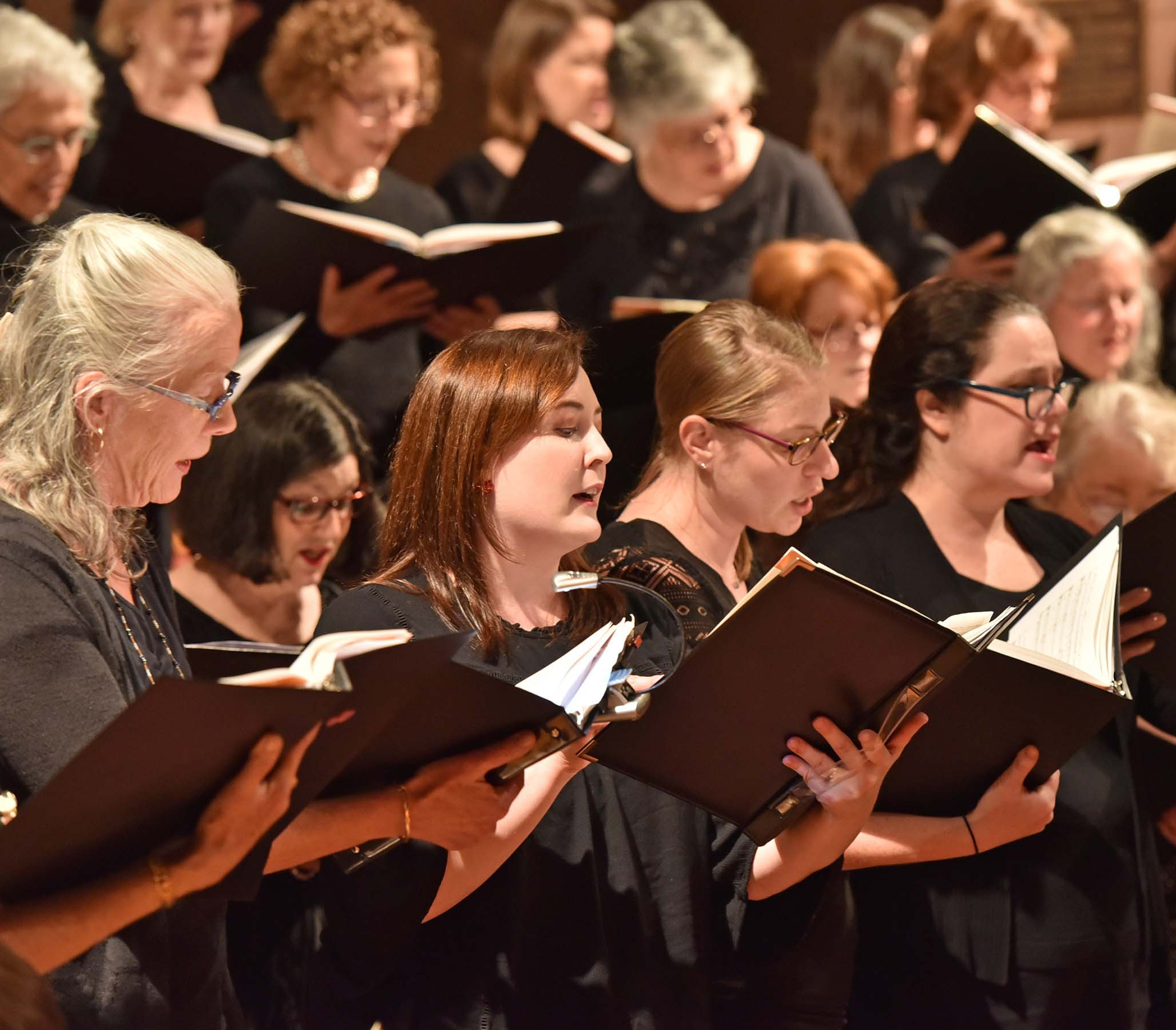 Who We Are - WHWC is a community women's choral group led by a professional music director. We take pride in performing challenging, diverse music in a broad range of innovative and entertaining styles.