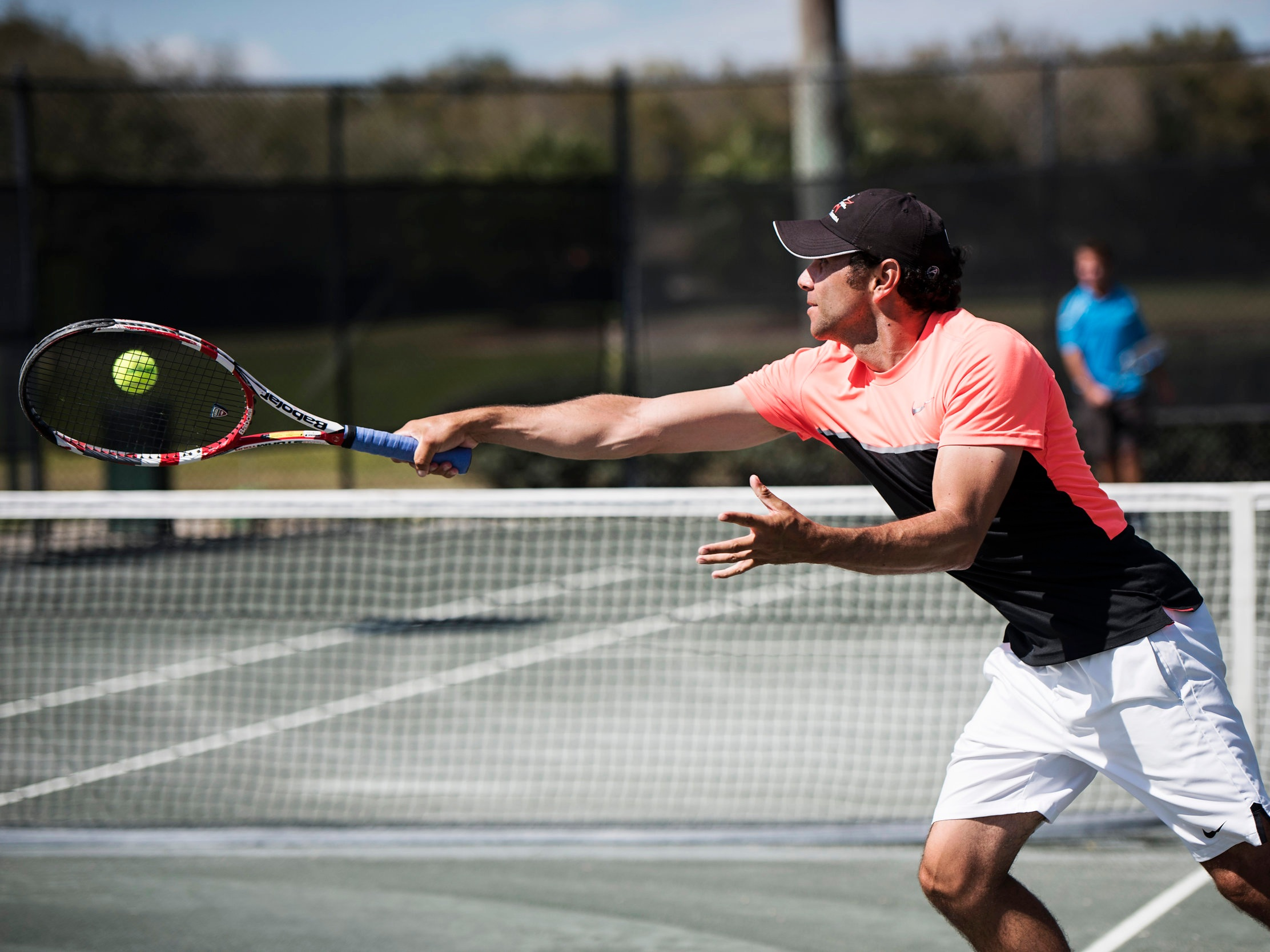 TENNIS & RACQUET - Overlooking Lake Tibet Butler, the Tennis Center features six Har-Tru clay courts, one Plexi Cushion court and a padel court, along with private locker rooms and a multi-sport court. Featured programs cater to all levels of play.