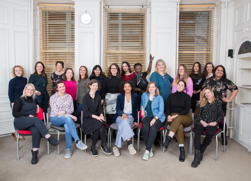 Tracy Forsyth with Women in Film and Television mentees