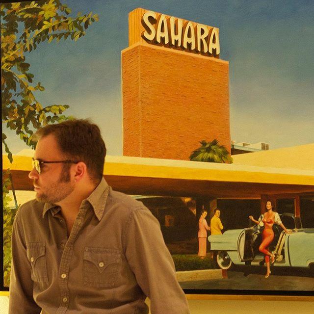 When Vegas was...... Vegas😎#lasvegas #lasvegasstrip #saharahotelandcasino #vintagevegas #clubmasters