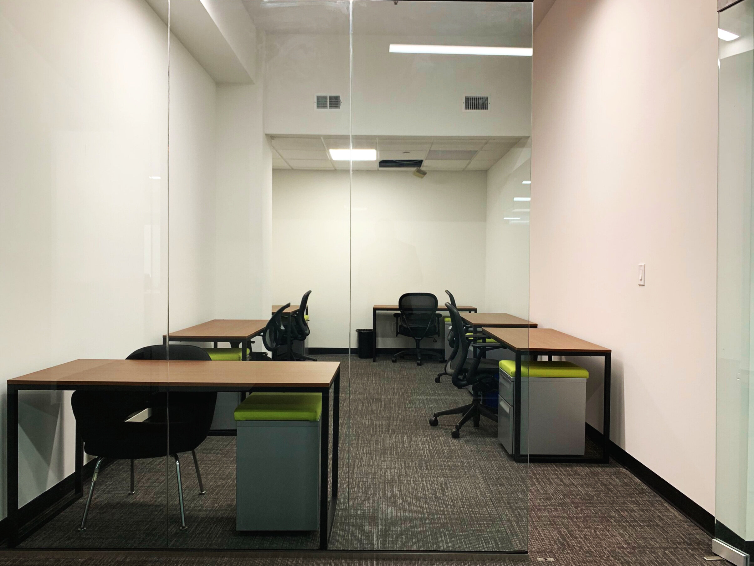 Suite 501: 6-7 People - A quiet office perfect for all types of companies that need lots of privacy for productivity.