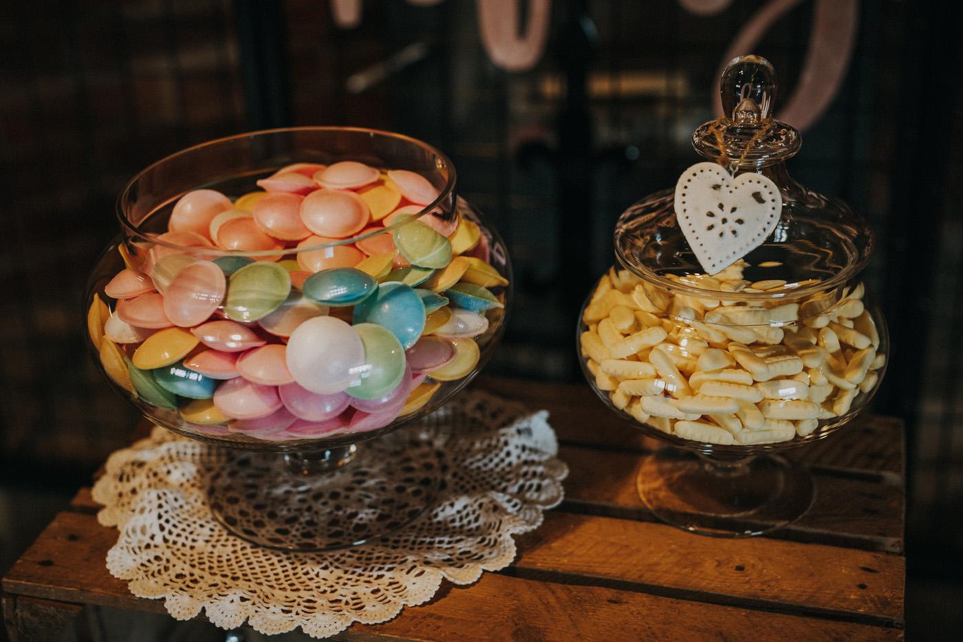 Sweet tables for weddings Nottinghamshire