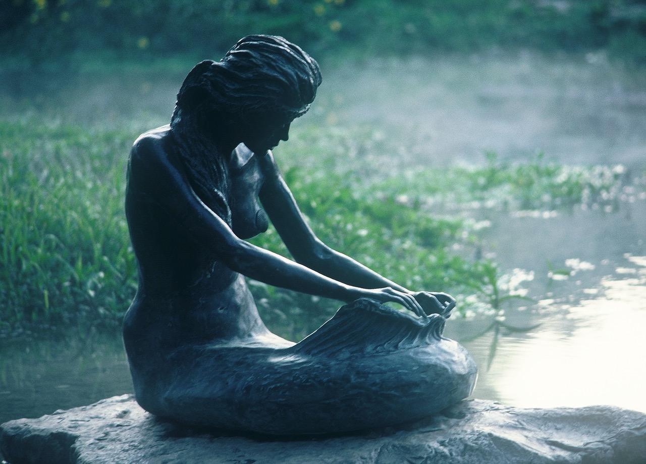 Sirena of Salado by sculptor Troy Kelley