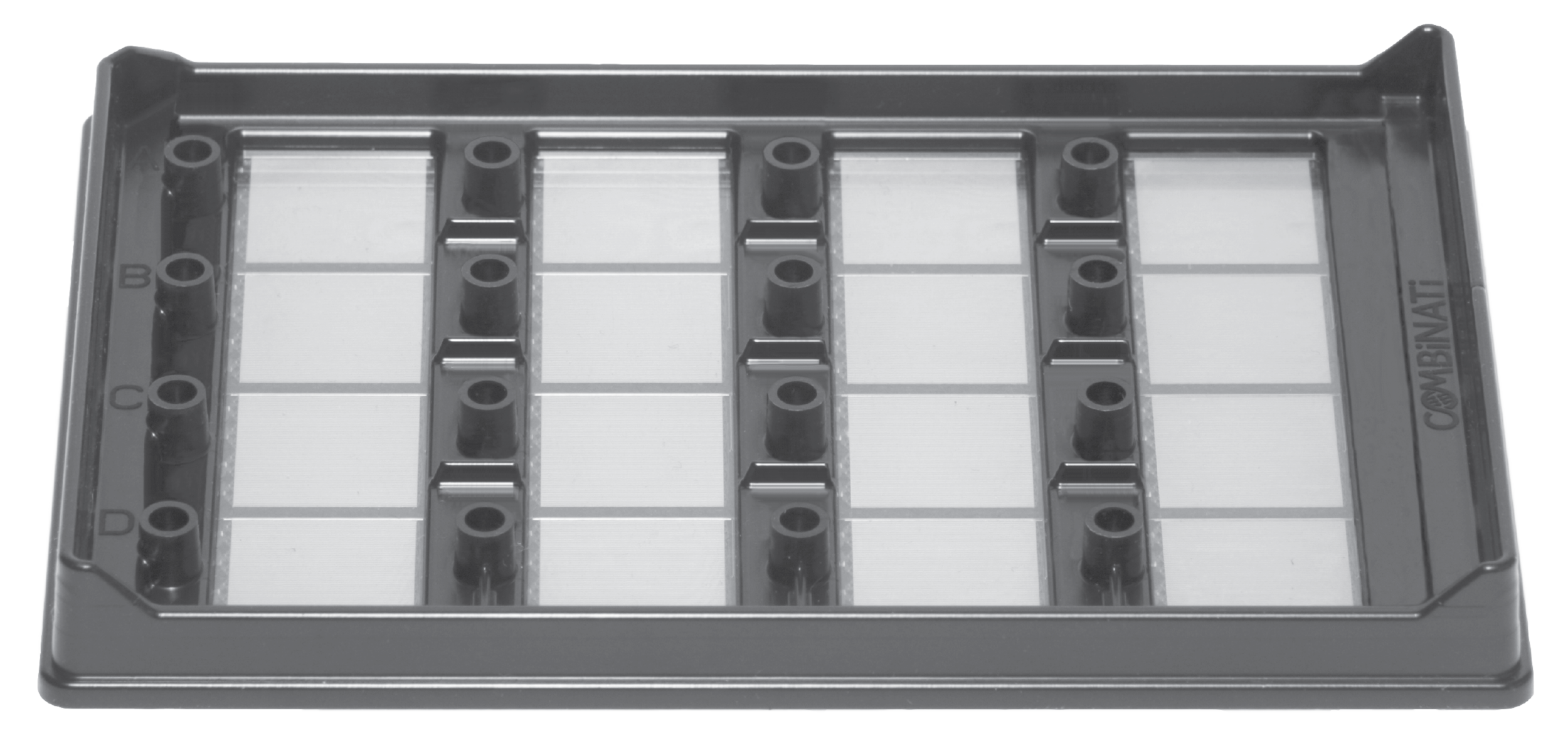 The COMBiNATi MAP16 Microfluidic Array Partitioning Plate