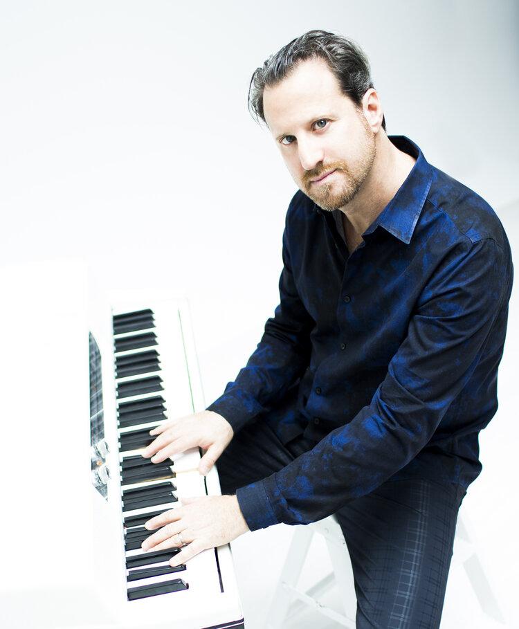 Andy Ezrin and Gregoire Marét Piano/HarmonicaDuo