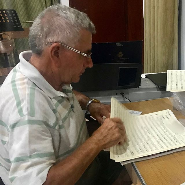 Meet our long-serving & loyal music archivist Raymond Fenech!  He's working hard behind the scenes. Ensuring that all music sheets are prepared and in order, just in time for the band rehearsals.  Don't miss out The La Vittoria Grand Concert & La Vittoria Youths LIVE!  #LVBC