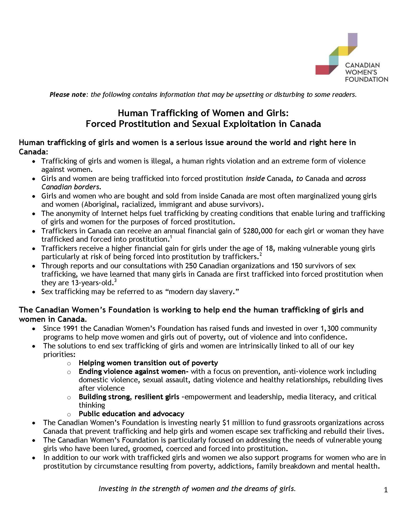 Summary document & FAQ