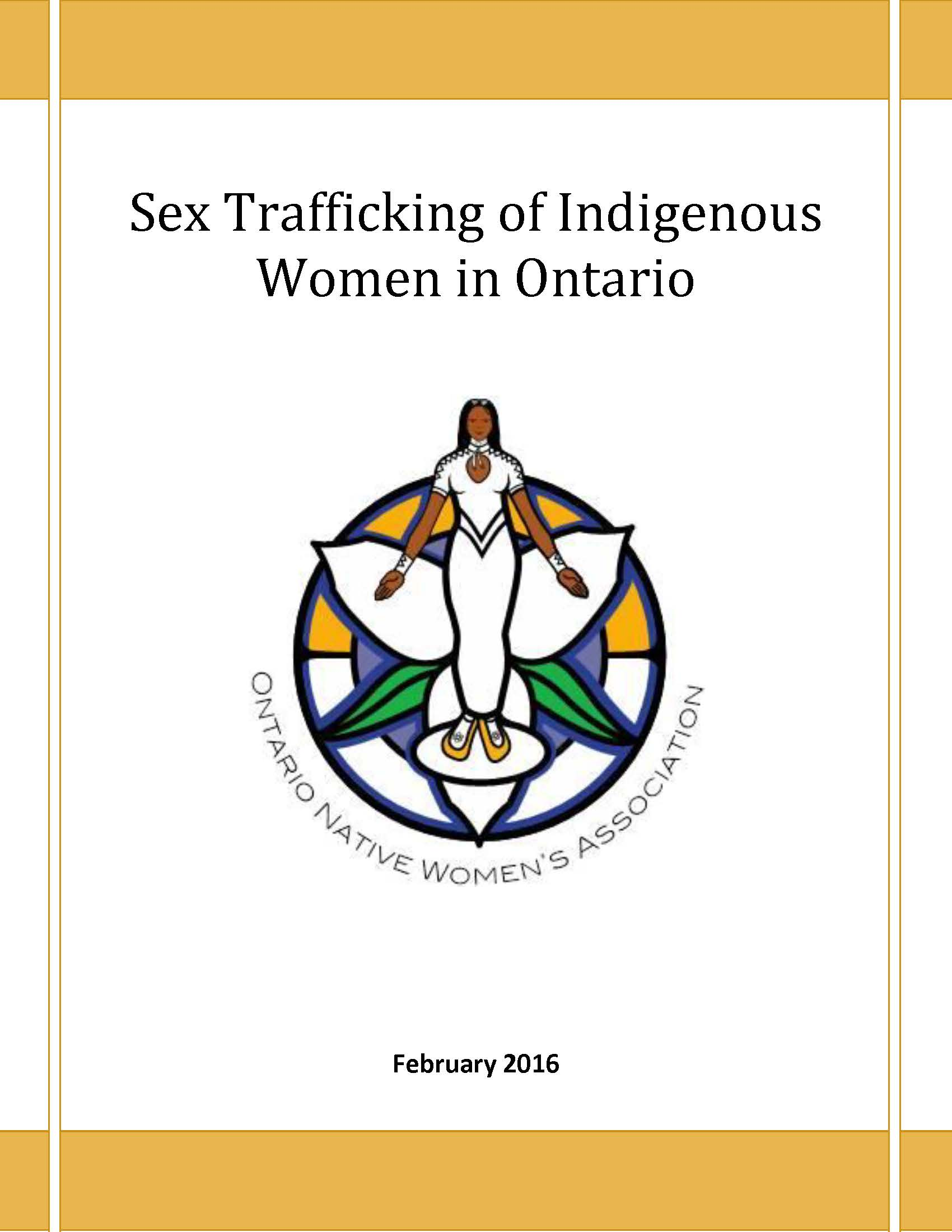 Ontario Native Women's Association, 2016 report