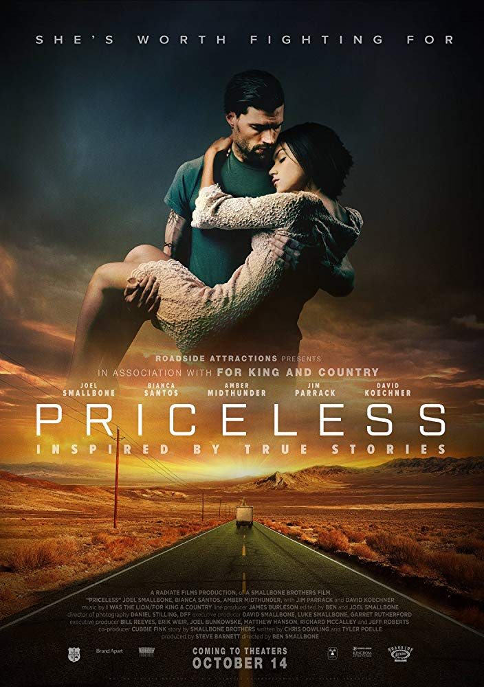 Priceless (2016) - A widower who loses custody of his daughter finds himself unable to hold down a job. He agrees to drive a truck across the country, no questions asked. But when he discovers what he is delivering, he is faced with a life-changing choice.Restorations has a screening license to show this film in public; see our screening event webpage for more information!