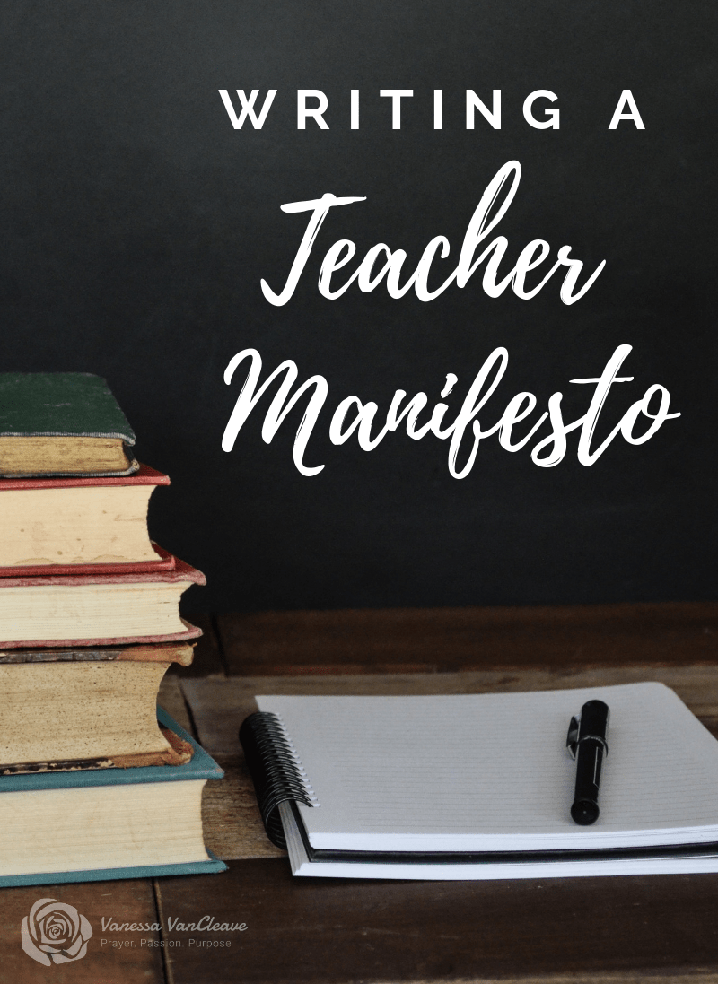 Teacher manifesto image