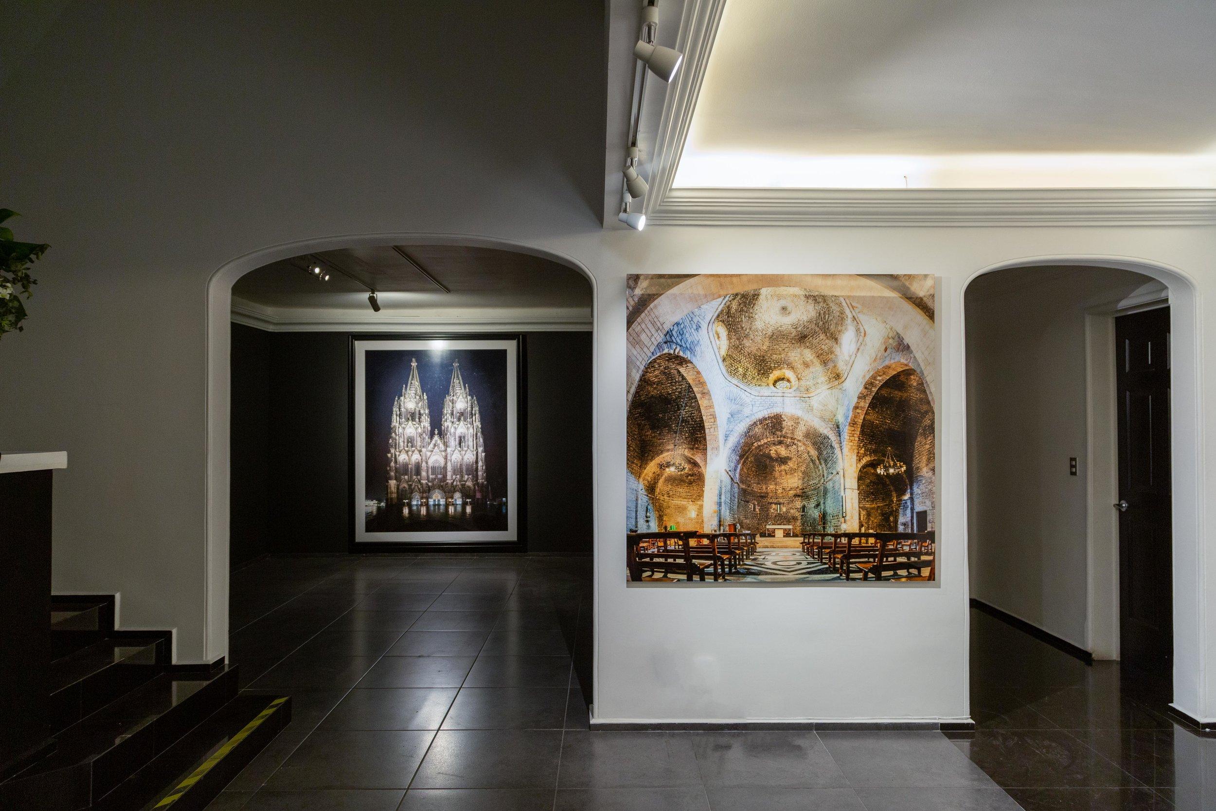 Sau Pau del Camp, Barcelona (Der) y Catedral de Colonia, Alemania (Izq)