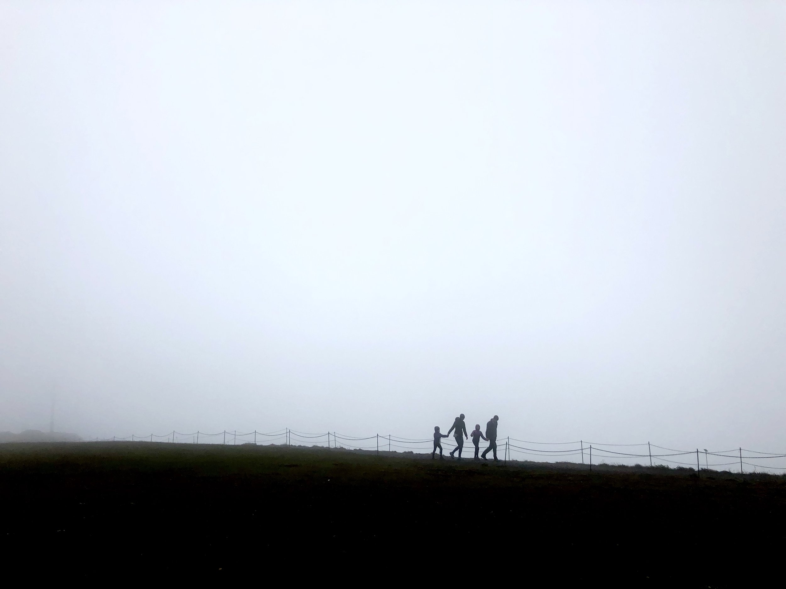 - This site holds one of Iceland's most impressive sceneries. But not today. All we got to see was low lying clouds.