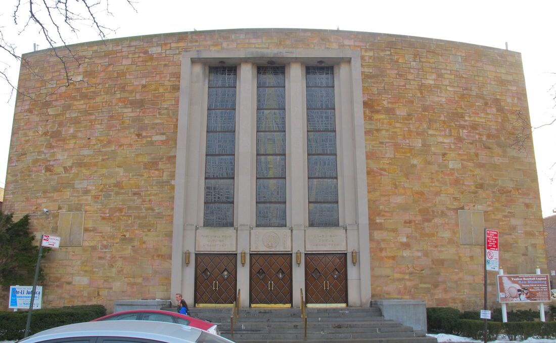 Forest Hills Jewish Center. Photo by author.