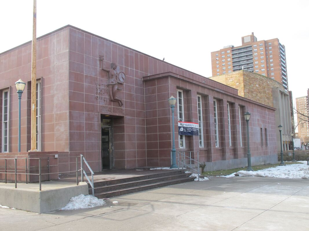 Forest Hills Post Office. Photo by author.