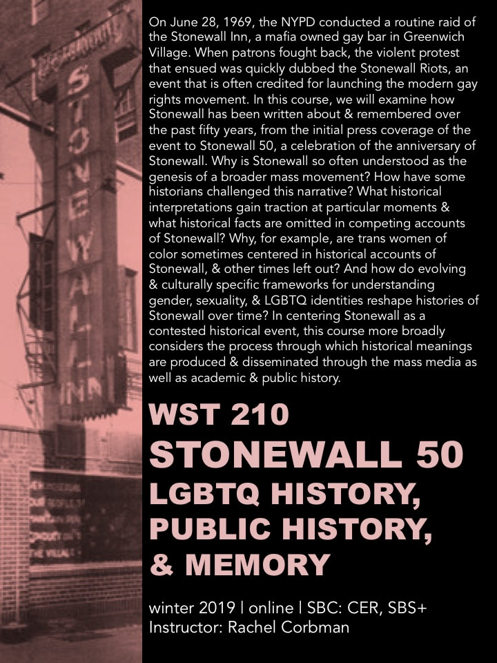 Stonewall, LGBTQ Activism, and Historiography