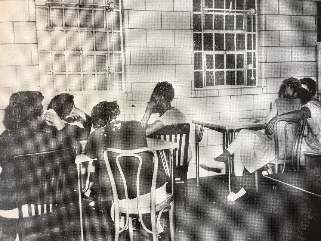 "Interior of the Women's House of Detention, published in Anna M. Kross, ""Progress Through Crisis, 1954-1965."" New York City Department of Corrections Report."