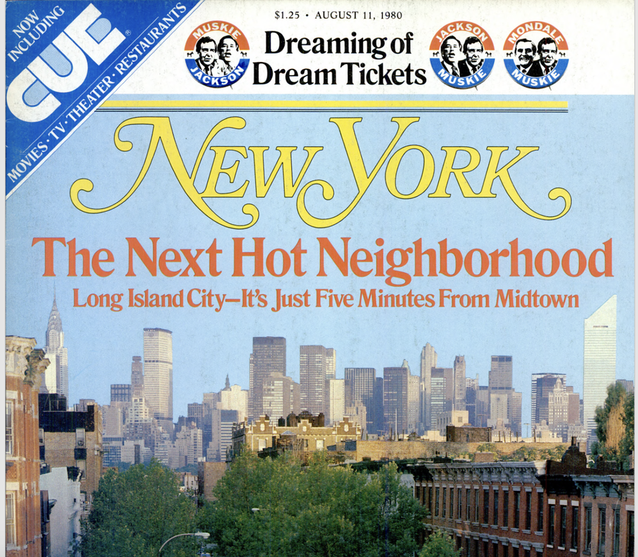 New York Magazine's 1980 coverage of Long Island City's bright future.
