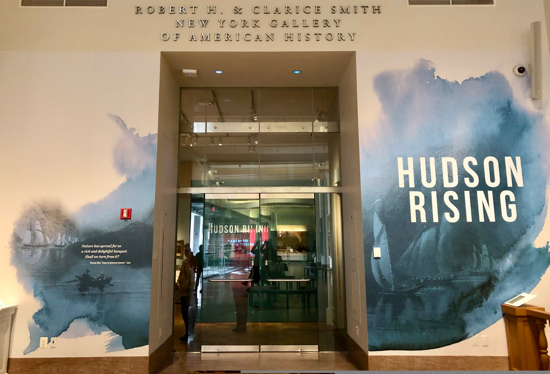 Hudson Rising, New York Historical Society. March 1 – August 4, 2019.