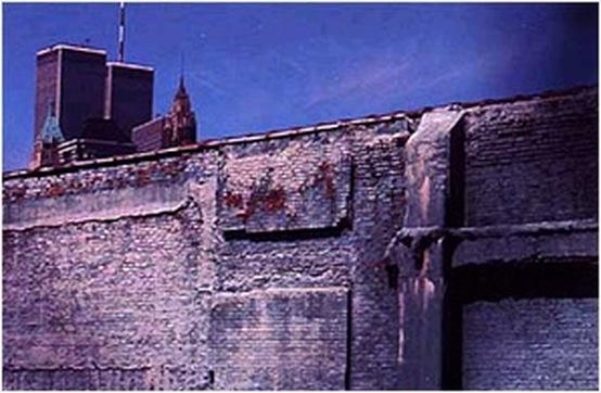 Postcard. Manhattan From Brooklyn, 1991. Genevieve Hafner.