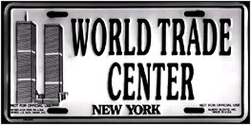 Novelty license plate, purchased 1994 Source: private collection