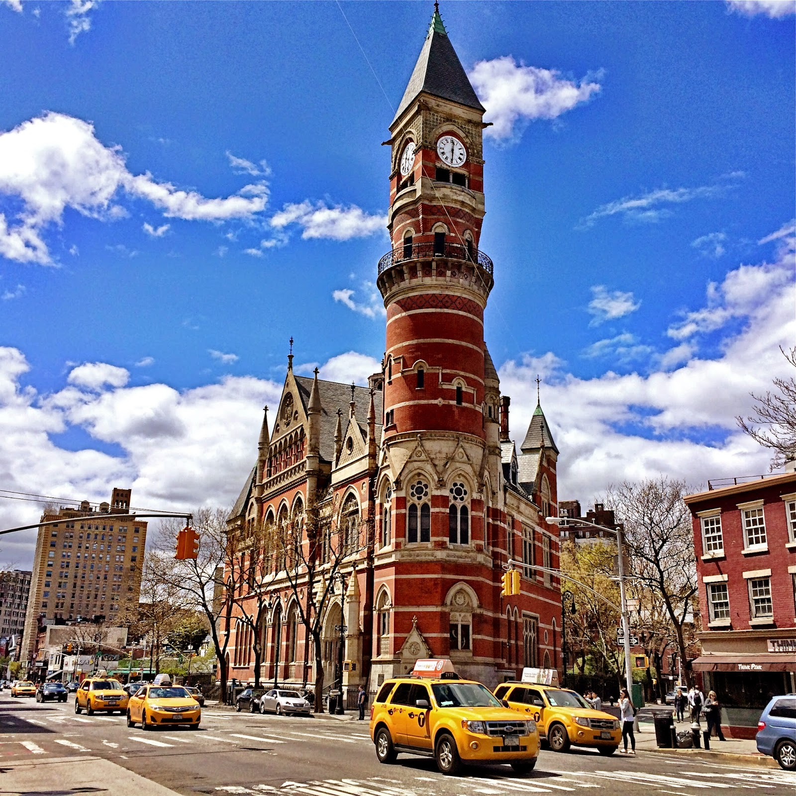 Simon Baatz , CUNY historian of crime and science in the 19th and early 20th century, on Jefferson Market Library, the Victorian Gothic courthouse in Greenwich Village