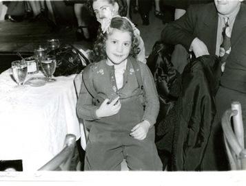 Jerri at age seven