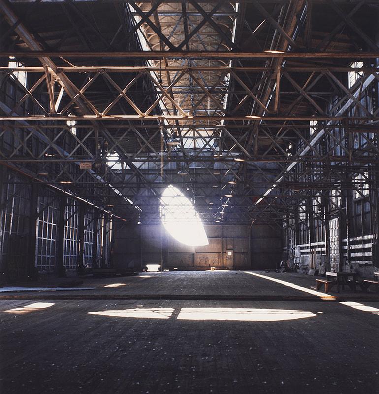 """Days End"" (interior view), Gordon Matta-Clark. Courtesy of: The Estate of Gordon Matta-Clark, https://hyperallergic.com/458566/40-years-after-his-death-gordon-matta-clark-takes-on-new-relevance/."