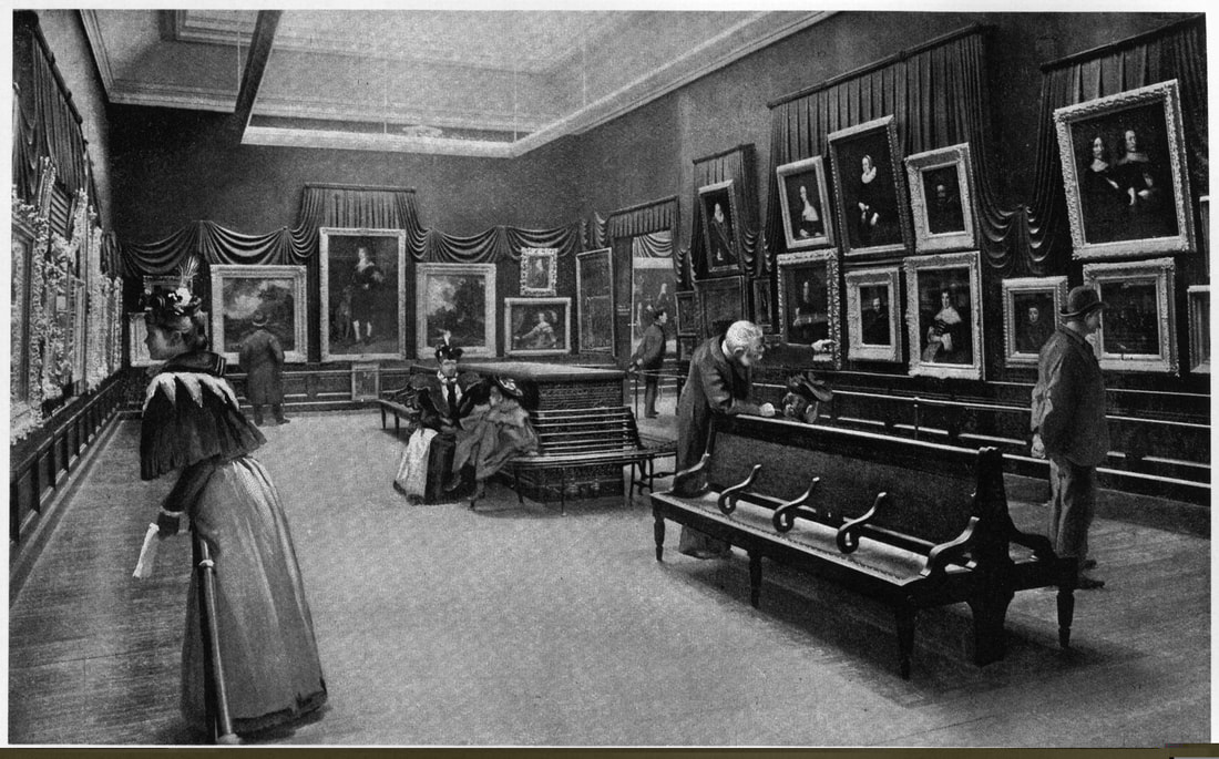 """""""The Marquand Gallery of Old Masters, Metropolitan Museum of Art,"""" 1897. Harper's New Monthly Magazine, March 1897"""