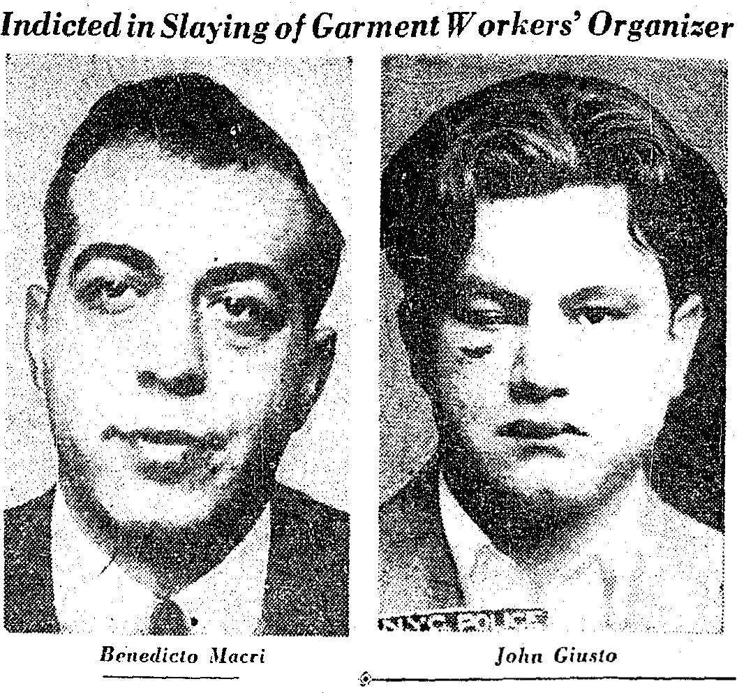Lurye's killers. Image excerpted from New York Herald Tribune, June 22, 1949.