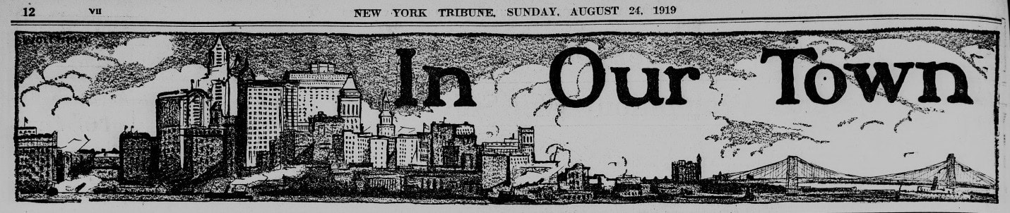 New York Tribune, 24 August 1919. Library of Congress.