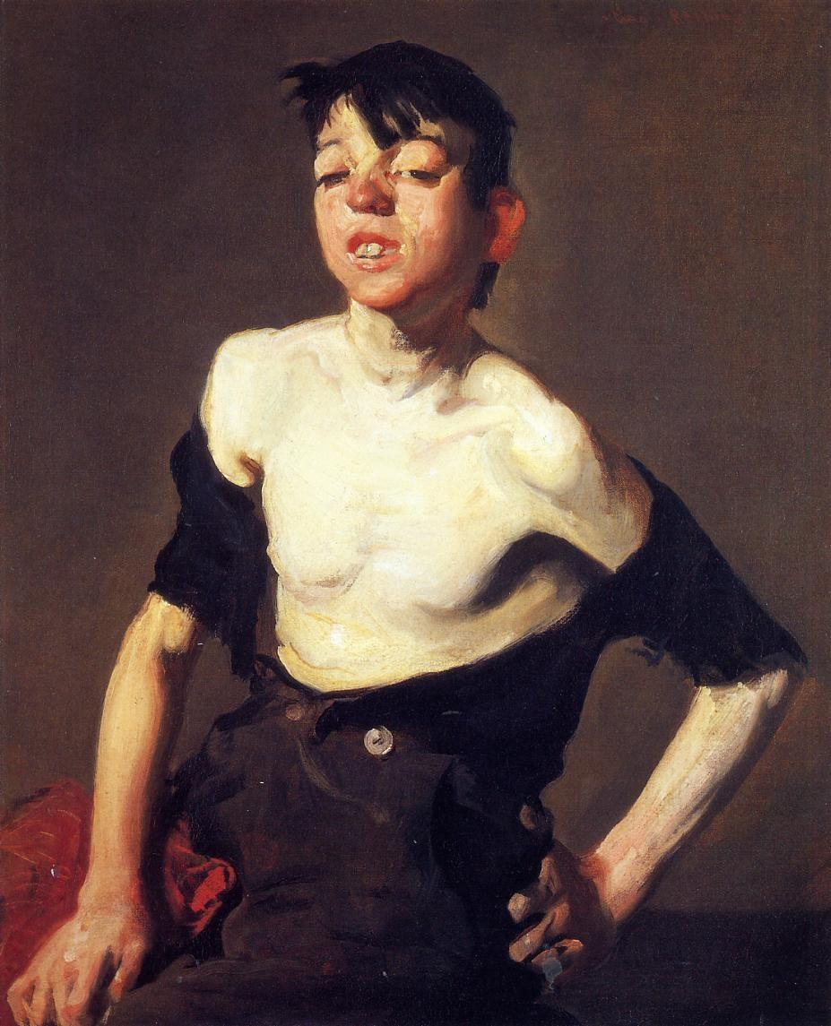 8.5 George Wesley Bellows (1882-1925),  Paddy Flannigan,  1905, oil on canvas. Private collection/photo © Christies Images/Bridgeman Images.