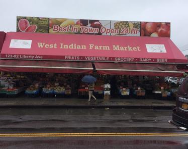 West Indian Farm Market.