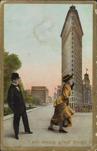 Postcard, 1915. Museum of the City of New York.