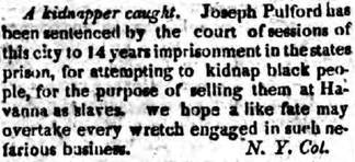 The Colored American's coverage of the Pulford trial, 1819