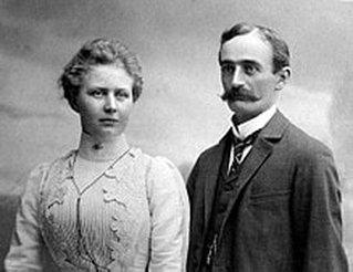 Elizabeth Christ and Frederick Trump, 1918